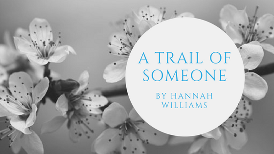 Sunday Stanza: Poem One- A Trail Of Someone By Hannah Williams