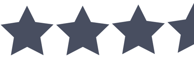 Three and the half stars
