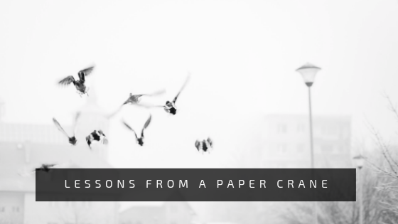 Lesson From A Paper Crane (Poetry)