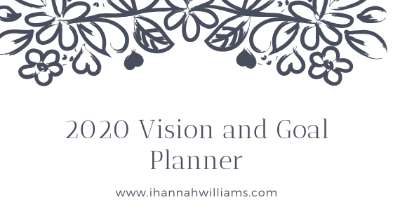2020 Vision and Goal Planner