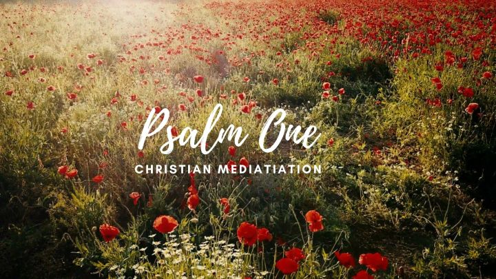 Psalm One | Christian Meditation | 5 Minutes Prayer| Devotional | BUD & BLOOM Series